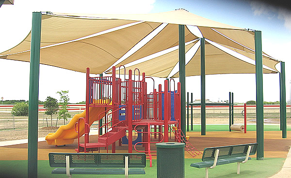 Natural Playgrounds Sail Shades